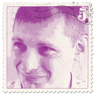 René op een postzegel!